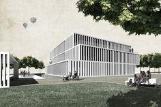 Edifici destinat a l'IMAS