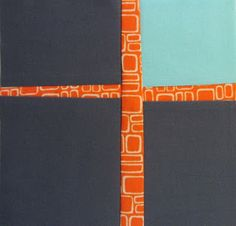 42 Quilts: Modern Monday--Cross