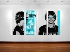 Bill Gates quote poster art #posterart