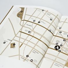 Small & Co - St Arnaud Brochure Map Design Brochure Layout, Brochure Design, Branding Design, Map Design, Book Design, Layout Design, Property Branding, Luxury Brochure, Map Icons