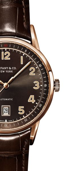 Handsomely crafted, the Tiffany CT60™ 3-Hand combines the complex functions of a high accuracy timepiece with sleek, modern lines.