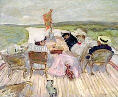 Pierre Bonnard - On the Yacht