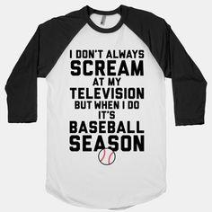 Baseball Season T-Shirts Disney T-shirts, Disney Ideas, Disney Films, Disney Parks, Dodgers, One Does Not Simply, Baseball Season, Hoodies, Sweatshirts
