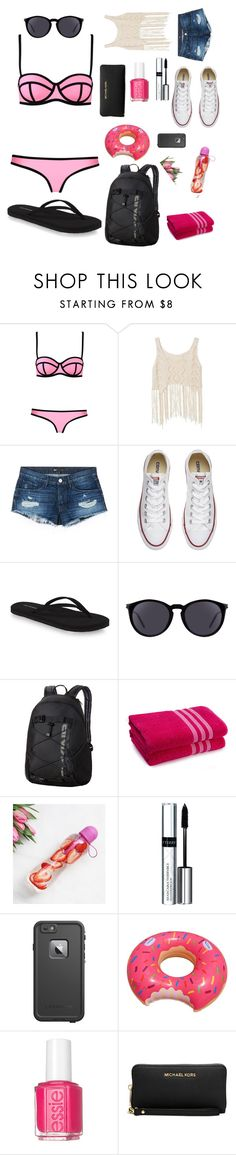"""""""pool day outfit  😍🌊🏊"""" by soap3 ❤ liked on Polyvore featuring Milly, 3x1, Converse, Yves Saint Laurent, Dakine, By Terry, LifeProof, Essie and Michael Kors"""