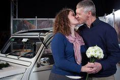 An en Tony winnen de huwelijksreportage van 10 uur 'smorgens tot 10 uur 'savonds van Glamournet!