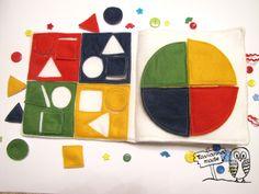 "Tavianna Toys: Книжка-развивалка ""Цвет и форма"" / Queit book ""Shape"""