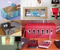 shoe box ideas collage
