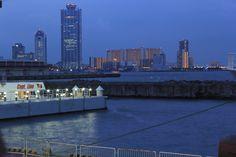 Harbor Area, Osaka, Night view