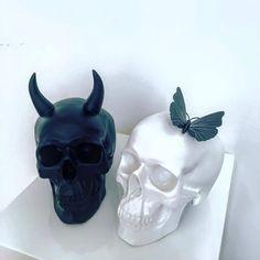 Devil or Angel? . . . . .  #skull #skulltattoo #skulls #skully #skullcandy #skullart #skullkid #skullz #skullandcrossbones #skullcap…