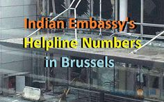 Indian Helpline Numbers in Brussels