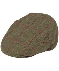 eb766b4a18745 Men s Alan Paine Combrook Waterproof Tweed Flat Cap