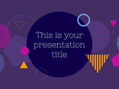 Free Colorful Powerpoint Template Or Google Slides Theme  Book