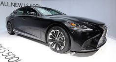 Lexus Reveals All-New LS 500h Flagship With A 354HP Hybrid Powertrain Geneva Motor Show Hybrids Lexus Lexus LS New Cars