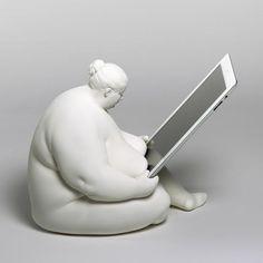 Venus of Cupertino: Die wahrscheinlich beste #iPad-Ladestation der Welt