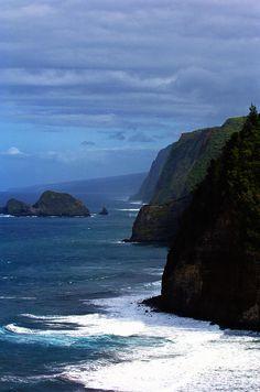 ✯ The coast of Hawaii. Vacation Trips, Dream Vacations, Vacation Spots, Beautiful Islands, Beautiful Places, Amazing Places, Hawaii Ocean, Aloha Hawaii, Costa