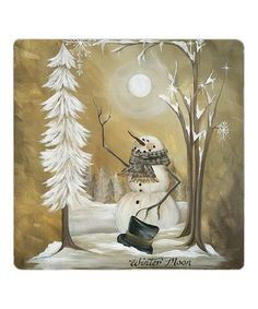 Look what I found on #zulily! Winter Moon Trivet #zulilyfinds