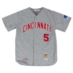 0a99e4649 Johnny Bench 1969 Authentic Jersey Cincinnati Reds Mitchell   Ness  Nostalgia Co.