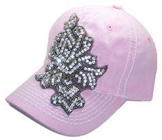 26a345de68d Items similar to Ladies Pink Baseball Cap