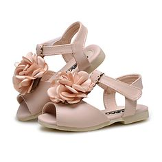 Baby Shoes Wedding / Outdoor / Dress / Casual Leatherette Sandals Blue / Pink / Beige 4930797 2016 – $18.89