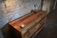 Reclaimed Wood Dresser by RecycledBrooklyn on Etsy