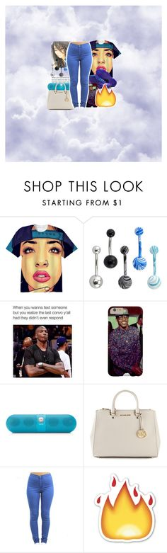 """""""............"""" by urqueen247 ❤ liked on Polyvore featuring CO, Beats by Dr. Dre and MICHAEL Michael Kors"""