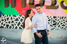 Wynwood Miami Art District Engagement Photos
