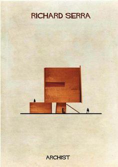 Richard serra house by Federico Babina