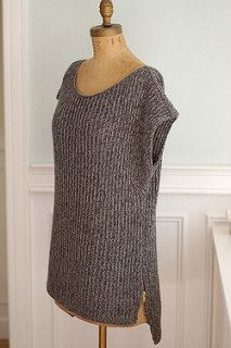 I literally just bought a sweater like this from JCP. :/   Mimic, a Hi-Lo sweater, free pattern on Ravelry