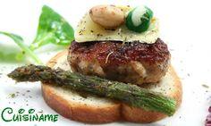 Una deliciosa tapa de hamburguesa gourmet. #recetas #gastronomía