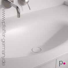 OLIVE By PFEIFFER   One Piece Solid Surface Material Without Joints.  #solidsurface #corian
