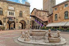 Bergamo città alta, piazza vecchia