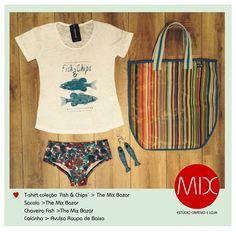 Domingueira. #themixbazar #estudiocriativo #loja #bazar #upcycling #design #moda #tshirt #cambui