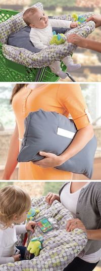 Comfy-Cozy Cart Cover // Keep Germs Away & It Folds Up Compact for Easy Travel