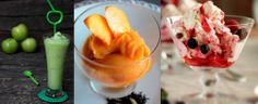 Tres postres helados muy saludables