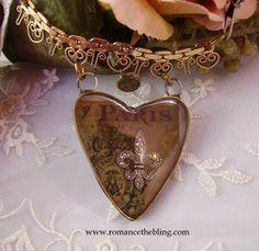Romancing the Bling: Paris, Fleur de Lis and more...