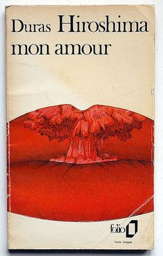 "Cover of Marguerite Duras', ""Hiroshima mon amour"""