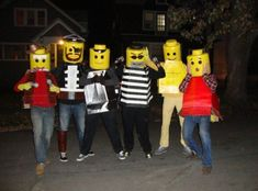 DIY Lego Halloween Costumes