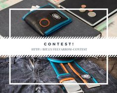 Show your upcycled love with this original inner tube belt + inner tube wallet from Felvarrom! @iRecyclart Contest ends on June, 30 2017!