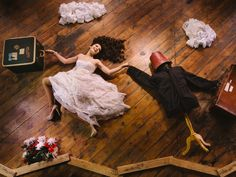 Groom-less bride poses in sweet solo wedding photos