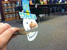 Adventures in Third Grade: Talking Snowmen