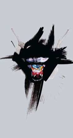"""Gorilla"" painting by David Choe, 2010"