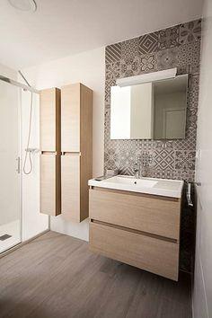 Bathroom Tile Designs, Bathroom Design Small, Bathroom Layout, Bathroom Interior Design, Ikea Bathroom, Bathroom Furniture, Kitchen Bar Design, Luxury Homes Interior, New Home Designs