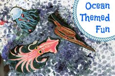 """Ocean Theme- I love the ocean version of the game """"Headbands"""" for a small group activity. Great way for children to develop their social skills, vocabulary, and science concepts about marine life."""