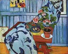 Still Life with Geraniums, 1910, oil on canvas, French, Henri Matisse