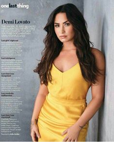 Demi lovato for people mazine #3