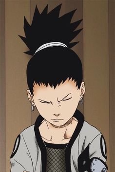 Shikamaru Nara (奈良シカマル, Nara Shikamaru) is a major supporting character of the series. He is a chūnin-level shinobi of Konohagakure's Nara clan and a member of Team Asuma. Along with his team-mates, he makes up the new generation of Ino–Shika–Chō, just like their fathers were before them.