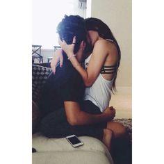 Cuddles with boyfriend   Tumblr via Polyvore