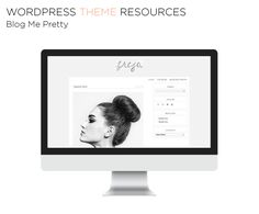 Wordpress Themes - Part One: Resources. Where to find beautiful themes for your self-hosted WordPress.org blog | Kaleidoscope Blog | Blog Me Pretty