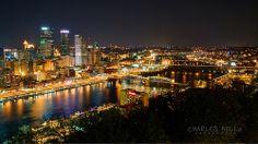 Pittsburg, Pennsylvania Skyline