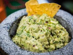 """Cristina's Guacamole Go to COOKING """"Home & Family"""" for today's recipe Ingredients I Love Food, Good Food, Yummy Food, Antipasto, Guacamole, Avacado Salsa, Appetizers For Party, Appetizer Recipes, Great Recipes"""
